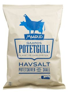 Potetgull #packaging #chips