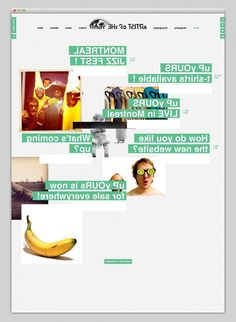 Websites We Love #layout #interactive #web #design