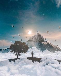 Dreamlike Photo Manipulations by Louis Kellner