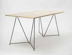 mm_cig #trestle #table #minimal #stackable