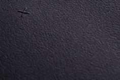 Two Times Elliott Stationery #emboss #times #branding #cross #black #two #elliott #identity #leather