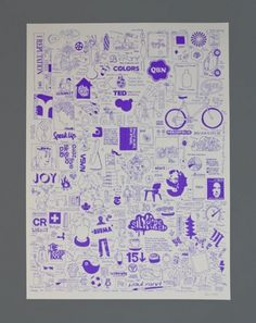 Design Work Life » cataloging inspiration daily #illustration #screenprint #poster