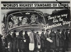 There%27s_no_way_like_The_american_way.jpg (1000×737) #white #ironic #american #black #advertising #vintage #and