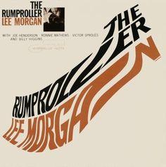 Vintage Vanguard ジャズレコード館 #album #jazz #typography #cover #stretch