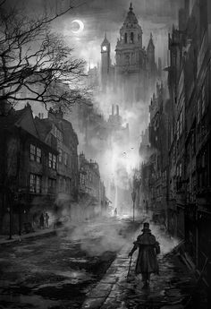 The Art Of Animation, Phuoc Quan #fog #city #quan #illustration #concept #victoria #art #phuoc