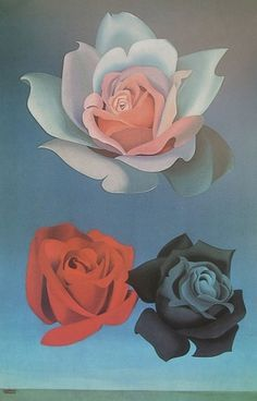 All sizes | 1970 'les possedees du Loudun' by Felix Labisse | Flickr - Photo Sharing! #roses