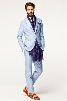 Fashion photography(CH Carolina Herrera Menswear S/S 2013, via mensfashionworld) #fashion