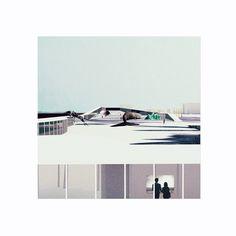 courtyard 2 copy_900.jpg (900×900) #perspectives #renderings #drawings #collage
