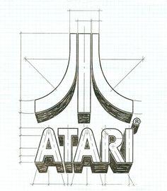 Brief Atari Brand History | Logoblink.com #guidelines #identity #atari #branding