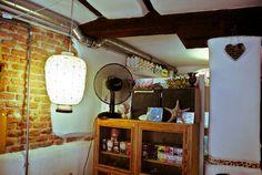 cafe el mar, tiendita bioverde #interior #caf #design #deco #decoration