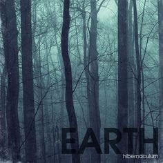 Earth Album Design #hibernaculum #album #dodaro #art #jen #eath