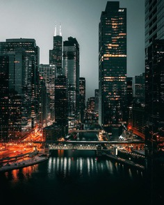 Striking Urban Landscapes and Cityscapes of Chicago by Benjamin Suter