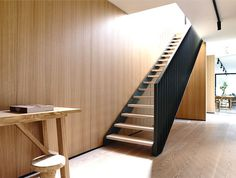 Melbourne House Created by Inglis Architects - #stairs, #staircase, #stairway, architecture, stairs