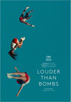 Louder Than Bombs (2015) #movie #cinema #poster #teal
