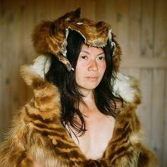 Art Sponge I Inspirational Visual Art #woman #natasha #fur #photography #portrait #klimchuk