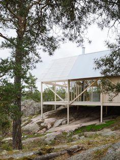Viggsö by Arrhov Frick. © Mikael Olsson. #architecture #architecture