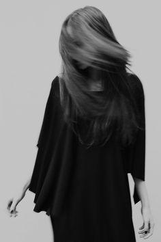 woman #white #woman #black #move #hair #photography #portrait #dress