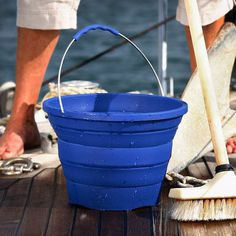 Collapsible Bucket by Infusion Living #tech #flow #gadget #gift #ideas #cool