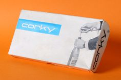 Corky Swiss Packaging #international #swiss #packaging #color #two #typographic #vintage #modernism #style
