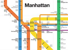 NYC Subway Map Becomes Digital Work of Musical Art WNYC #subway