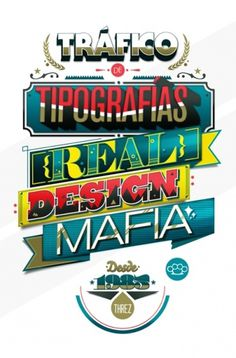 Personal « threz.com.ve #mafia #design #latino #threz #typo #typography