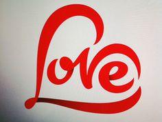 Love #lettering