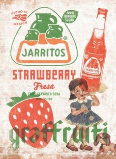 Jarritos: Strawberry | Ads of the World™ #jarritos