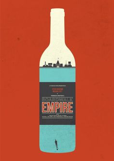 Boardwalk Empire, poster art by Matt Needle - russtifer