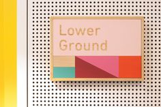 East Sydney Early Learning by Toko #wayfinding #children #friendly #color #wood