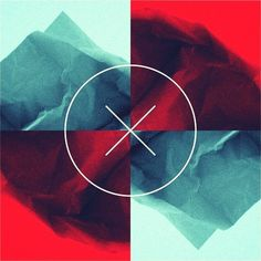 hello stranger, #circle #mountain #red #stranger #cross #hello #blue #paper