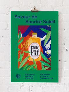 Poster for Fous de L'île by Fivethousand Fingers