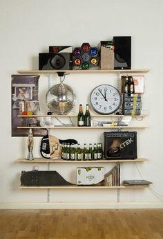 Skull Bookshelves by James Hopkins | 123 Inspiration