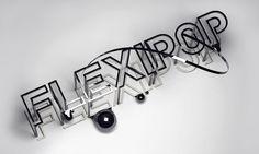 Flexipop PLASTICBIONIC ::: Art direction, Graphic Design #type #3d