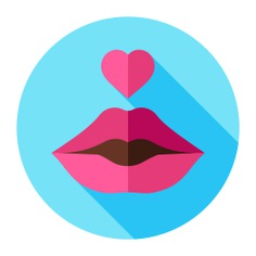 See more icon inspiration related to kiss, love and romance, valentines day, femenine, romantic, lips, heart and love on Flaticon.