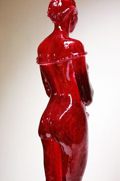 """Cherry Laura""Preserved Sugar100 x 30 x 30 cm #sculpture"