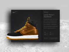 #black #card #interface #lunar #nike #product #product #card #shoes #sport #ui #ux #widget