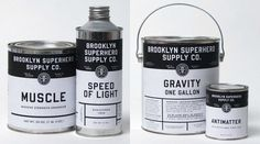 Fonts In Use – Brooklyn Superhero Supply Co. #typography #paint