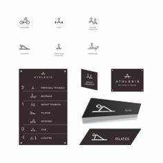 Signage | Sign Design | Wayfinding | Wayfinding signage | Signage design | Wayfinding Design | 健身房