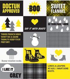 Natalie Schaefer #martens #yellow #black #illustration #doc