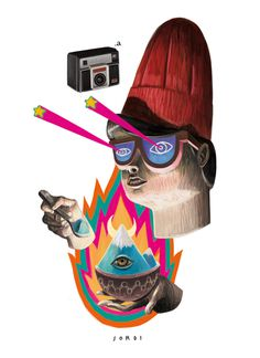 Alejandro sordi #illustration #fantasy #crazy