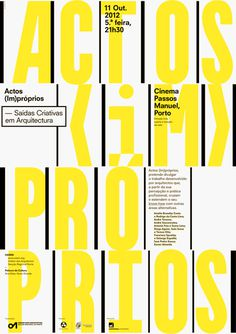 And atelier #poster #typography