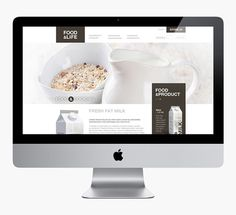 Food&Life #digital #layout #design #web