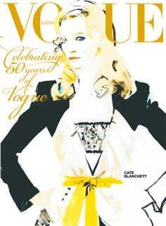 vogue australia september 2009 cate blanchett by david downton