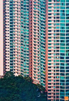 Hong Kong facades by Miemo Penttinen thumbnail_4 #art