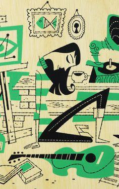 Derek Art – News #illustration