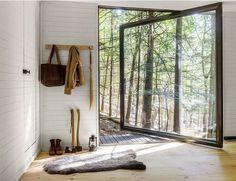 Tiny Blackened Timber Cabin 3