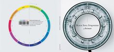Matt Simmonds' Work – Print #colourful #album #sleeve #cover #circular