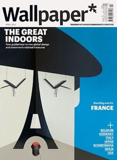 Super Punch: Wallpaper Magazine covers by Noma Bar