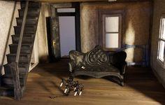 parlor3 #miniature #diorama #dollhouse