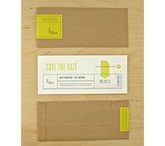 Graphic-ExchanGE - a selection of graphic projects #minimal #wedding #save the date